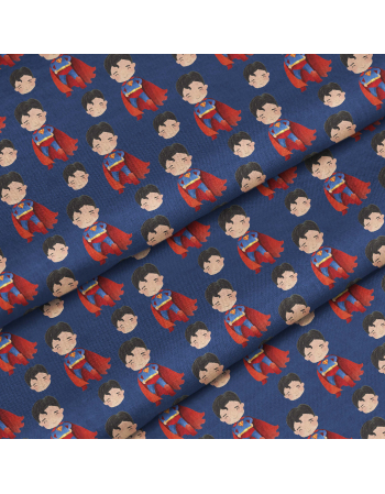 Superman - fabric by meter