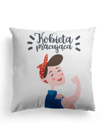 Working Woman - Cushion Panel , Cotton Panel