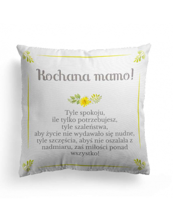 The best mum - cushion panel, mothers day