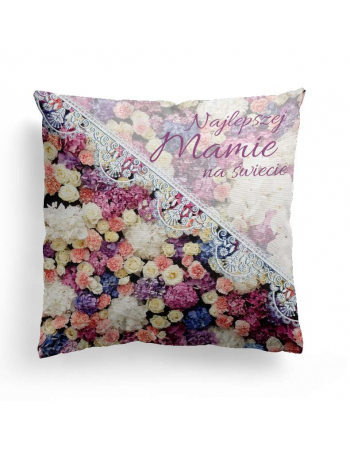I love you mum - cushion panel, mothers day