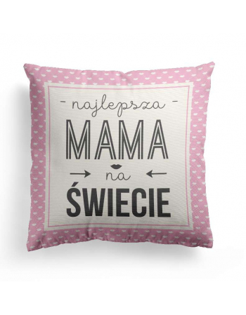 Best mum in the world - cushion panel, mothers day