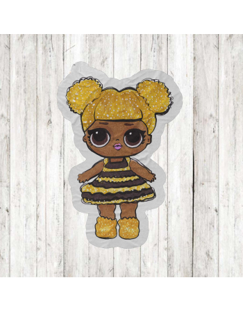 LOL DOLL - fabric panels for mascot , fabric panel for quilt