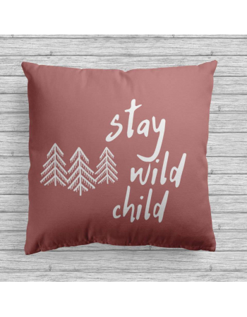 Stay Wild - fabric panels for cushion , fabric panel for quilt