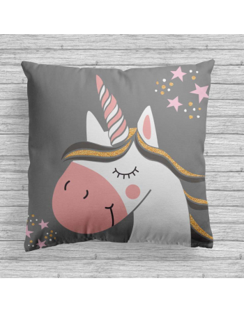 Unicorns - fabric panels for cushion , fabric panel for quilt
