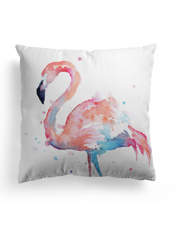 Flamingos - fabric panels for cushion , fabric panel for quilt