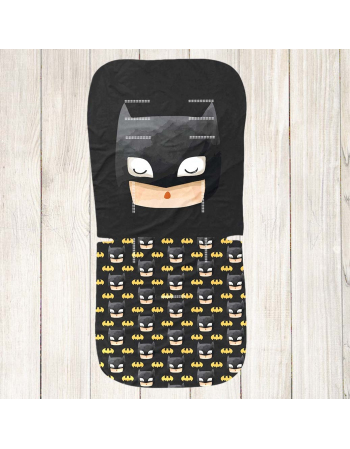 Batman Stroller insert panel - universal size , Cotton Panel