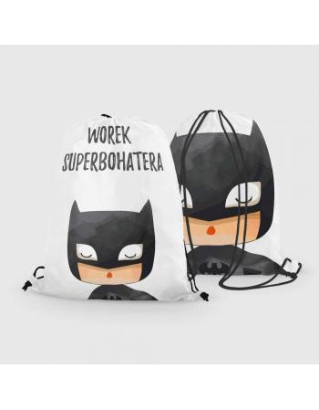Batman - drawstring bag panel