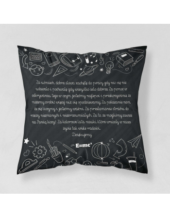 Thank you teacher - cushion panel