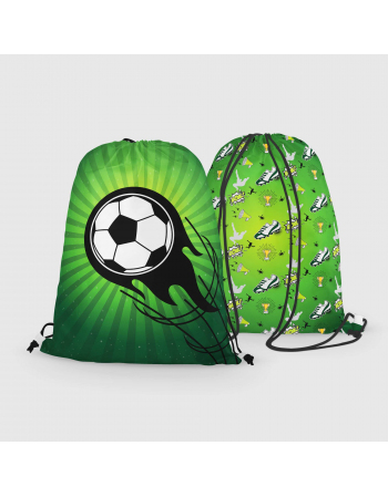 Football- drawstring bag panel