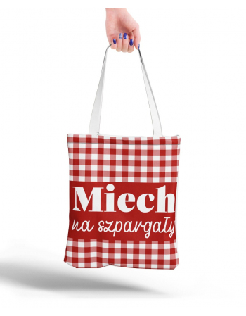 Polish quote  - tote bag panel