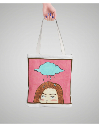 Creepy Fashion  - tote bag panel
