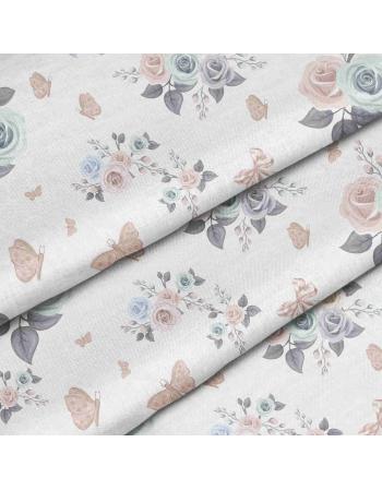 Kolekcja Jeloneczek - róże na bieli