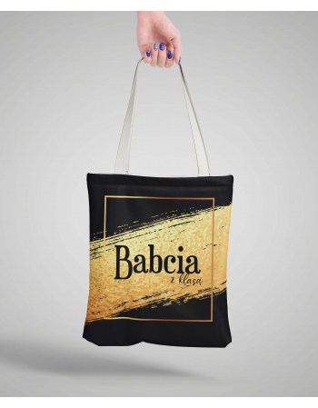 Babcia z klasą - Bag Panel , Bag Fabric