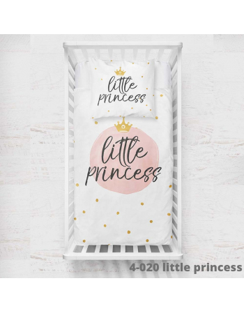 Komplet paneli pościelowych little princess