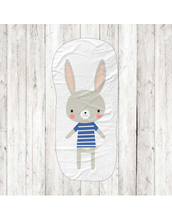 Rabbit - fabric panels for mascot , fabric panel for quilt