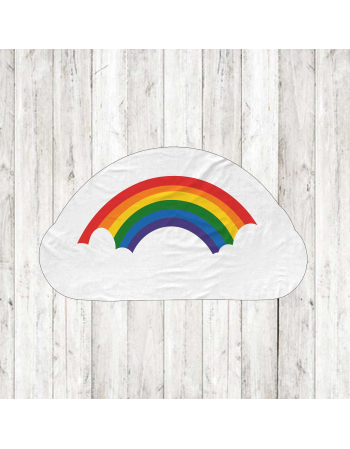 Rainbow - fabric panels for mascot , fabric panel for quilt
