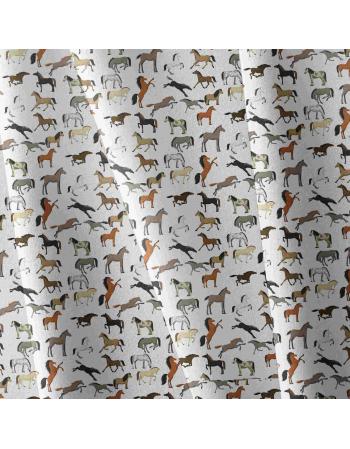Kolekcja Konie - tkanina na metry