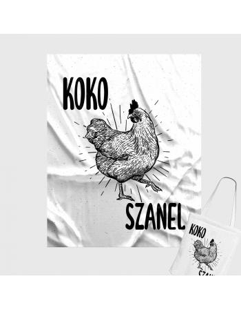 KOKO SZANEL - panel na torbę