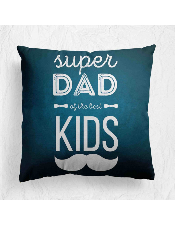Super Dad - fathers day - cushion panel