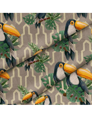 Toucans  SS2020 - fabric by meter