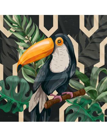 Tukany - panel na poduszkę ogrodową - Kolekcja 2020