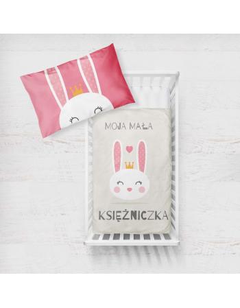 Panel kocykowy -Kolekcja - Mała księżniczka - króliczek