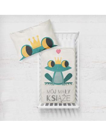 Panel kocykowy -Kolekcja - Mały książe - żabka