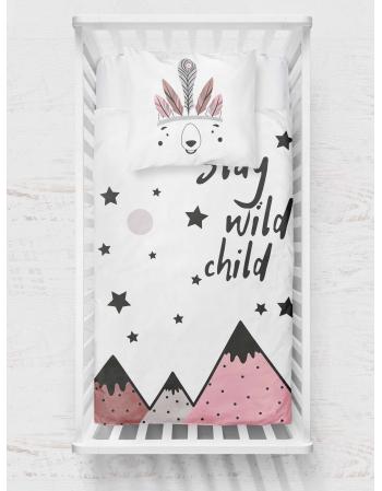 Panel kocykowy -Kolekcja - Stay wild - pink