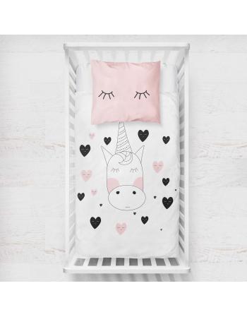 Panel kocykowy -Kolekcja - Różowe jednorożce
