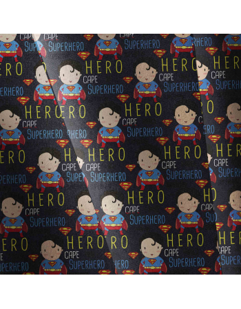 Superman english version - fabric by meter