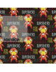 Iron man english version  - fabric by meter