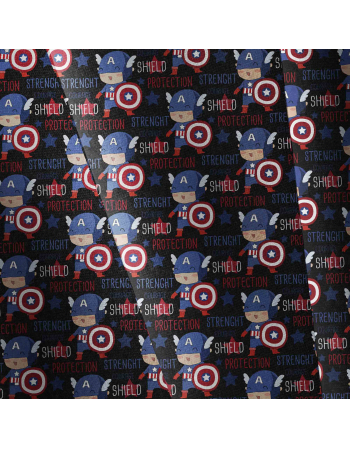 Captain america english version -  fabric by meter
