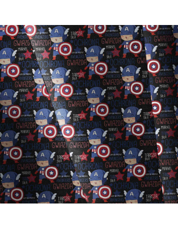 Captain america - fabric by meter