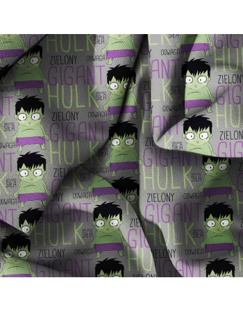 Hulk- fabric by meter