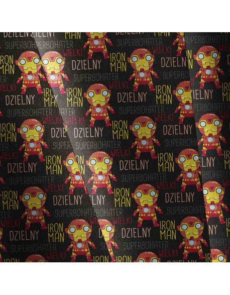 Iron man - fabric by meter