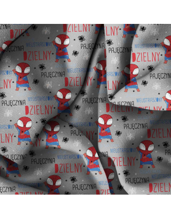 Spiderman - fabric by meter