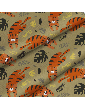 Easy Tiger - fabric by meter