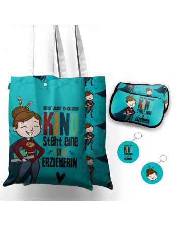 Best Teacher - tote bag panel