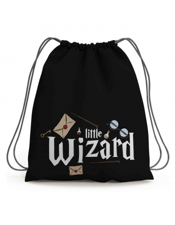 Wizard World - drawstring bag panel
