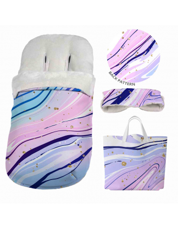 MARBLE - footmuff , Sleeping Bag Panel