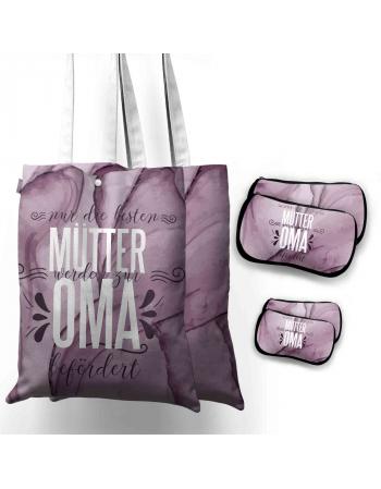 Grandma Bag - Bag Panel set , Insta Bag