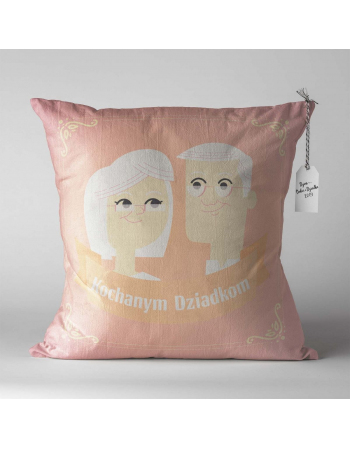 Cushion Cotton Panel  Grandmothers day